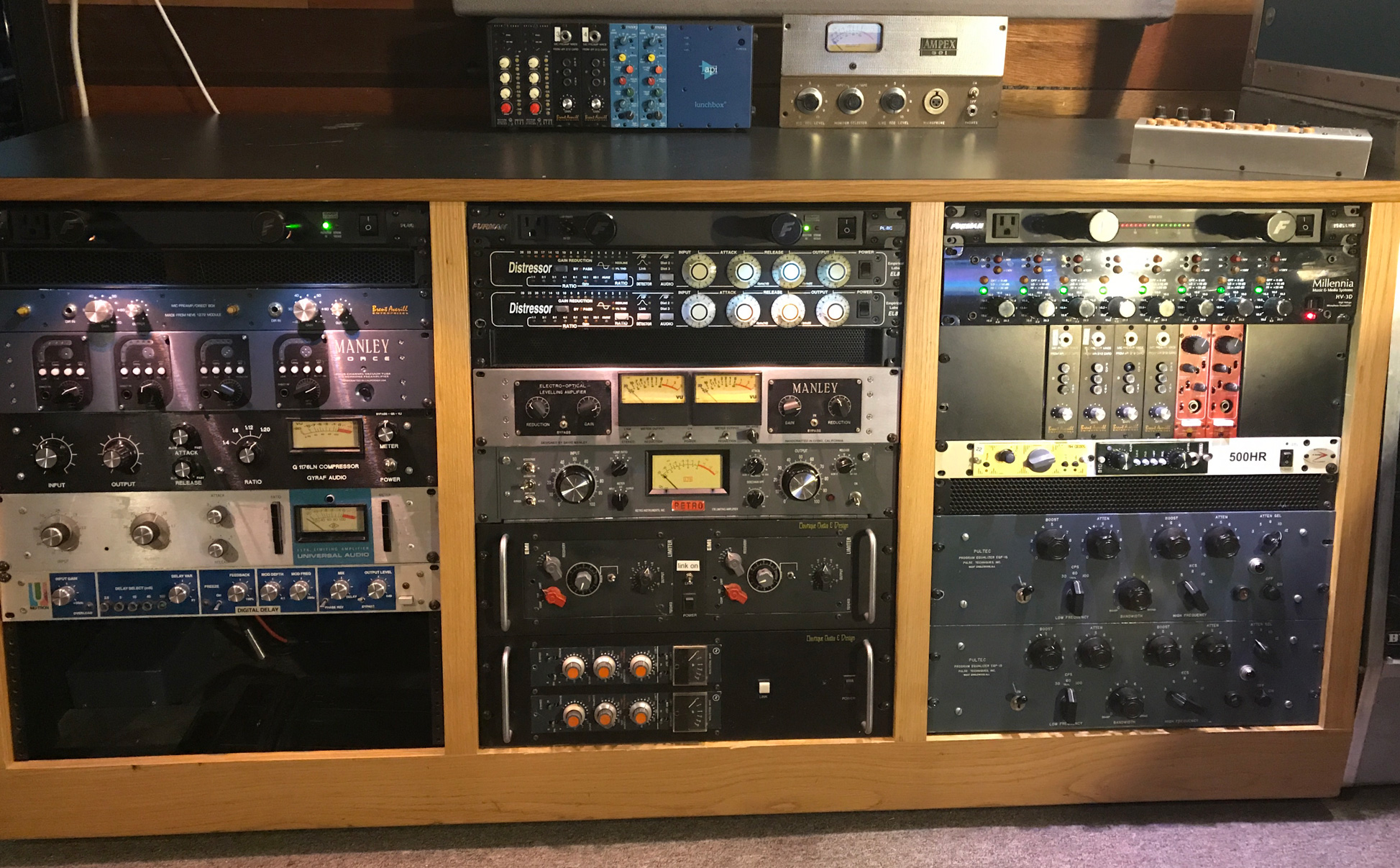 Compressors, Preamps, and EQs