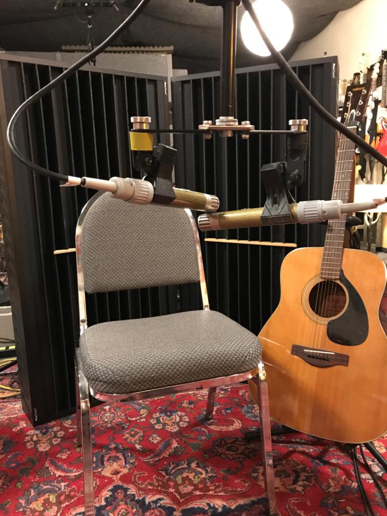 Acoustic recording setup